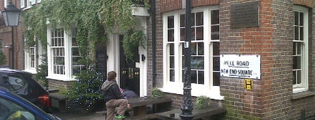 The Old White Bear is one of Sunday lunch in London.