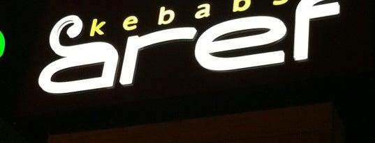 Aref Kebabs is one of Tempat yang Disukai Paulinho.