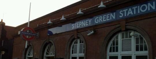 Stepney Green London Underground Station is one of Underground Stations in London.