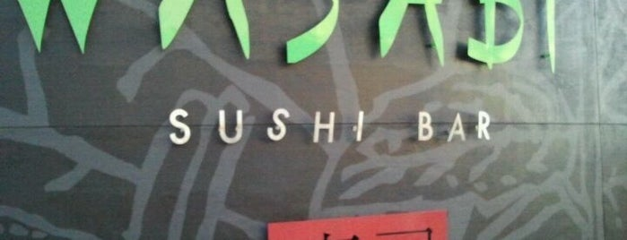 Wasabi Sushi Bar is one of Posti che sono piaciuti a Jill.