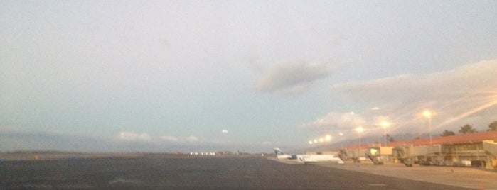 Kahului Airport (OGG) is one of Airports I´ve been to.