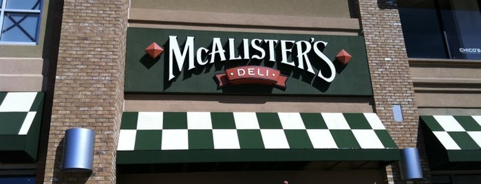McAlister's Deli is one of Zone C.