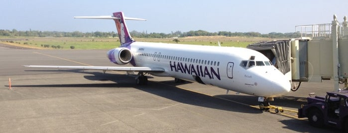 Hilo International Airport (ITO) is one of AIRPORT.