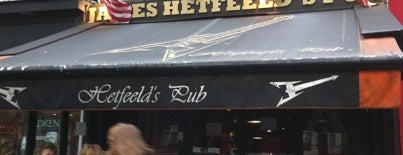 James Hetfeeld's Pub is one of Bars a tester.