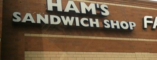 Ham's Sandwich Shop is one of John'un Beğendiği Mekanlar.