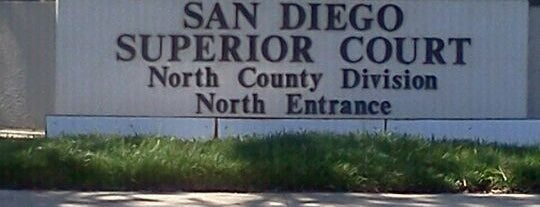 San Diego Superior Court - North County Regional Center is one of สถานที่ที่ John ถูกใจ.