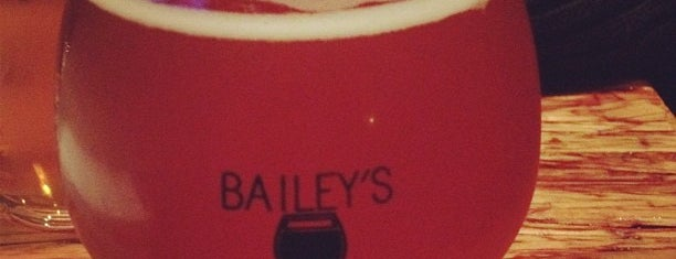 Bailey's Taproom is one of 100 Beer Bars to Try.