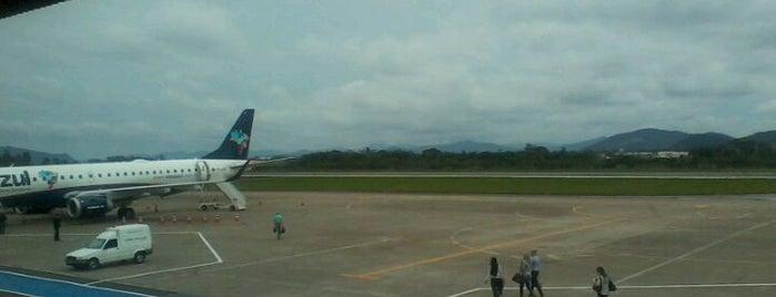 Aeroporto Internacional de Navegantes / Ministro Victor Konder (NVT) is one of Aeroportos.
