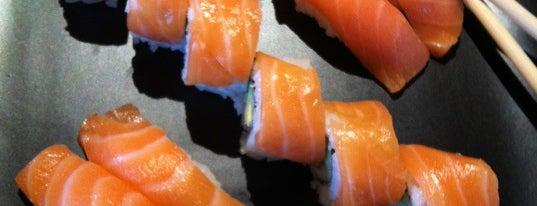 Bluefin Sushi Bar is one of Portland Roadtrip.