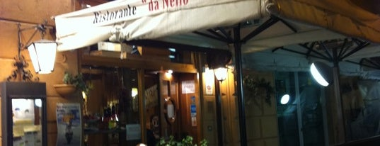 Ristorante Da Nello is one of Lugares favoritos de Burce.
