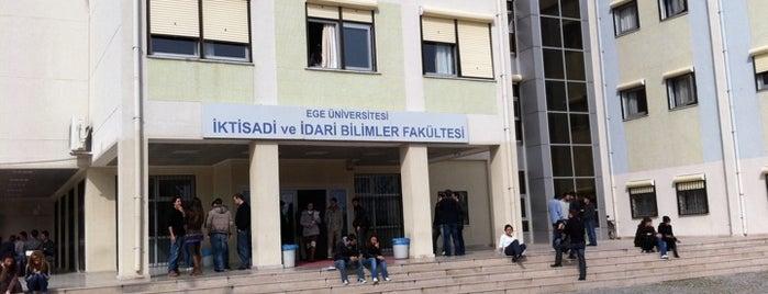 İktisadi ve İdari Bilimler Fakültesi is one of Gizem 님이 저장한 장소.