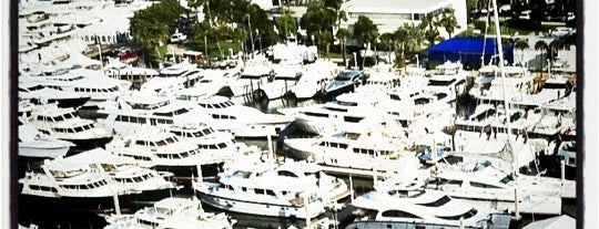 Fort Lauderdale Boat Show is one of Locais salvos de Matthew.