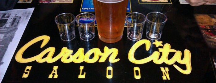 Carson City Saloon is one of Tempat yang Disukai Craig.