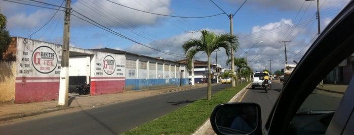 Cruz das Almas is one of ....