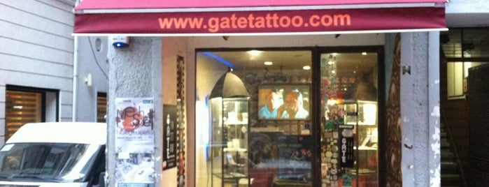 Gate Tattoo & Piercing is one of Orte, die Simge gefallen.