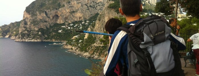 Belvedere Tragara is one of Guide to Capri's best spots.