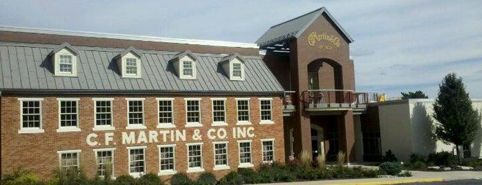 Martin Guitar is one of Philadelphia.