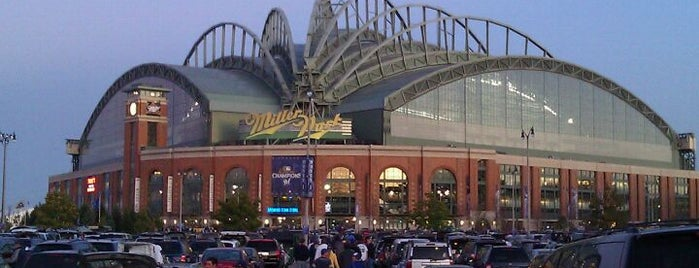 Miller Park is one of Ballparks Across Baseball.