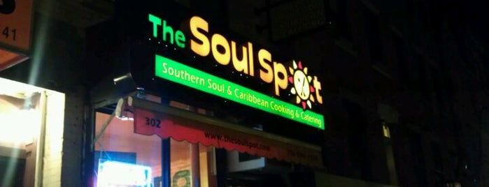 The Soul Spot is one of 200 Black-Owned Restaurants in NYC.