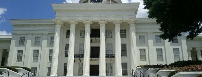 Alabama State Capitol is one of The Crowe Footsteps.