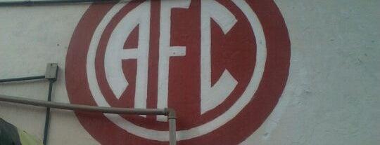 América Futebol Clube is one of Meus Lugares.