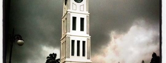 Jam Gadang is one of The Wonders of Indonesia.