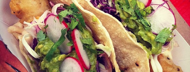 Rockaway Taco is one of by necessity, not necessarily by choice (1 of 2).