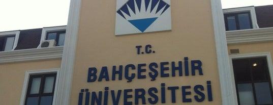 Bahçeşehir Üniversitesi is one of İstanbul'daki Üniversite ve MYO'ların Kampüsleri.