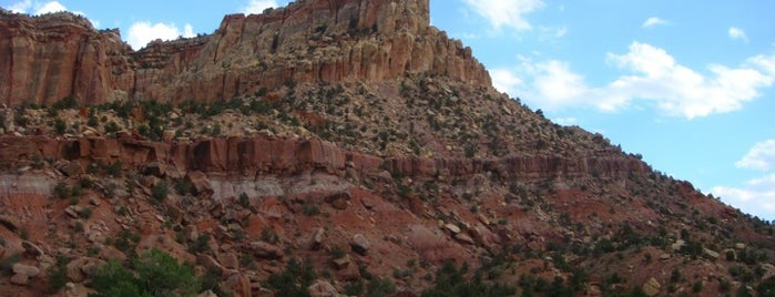 Capitol Reef National Park is one of American National Parks.