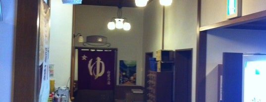 湯涌温泉総湯 白鷺の湯 is one of 訪れた温泉施設.
