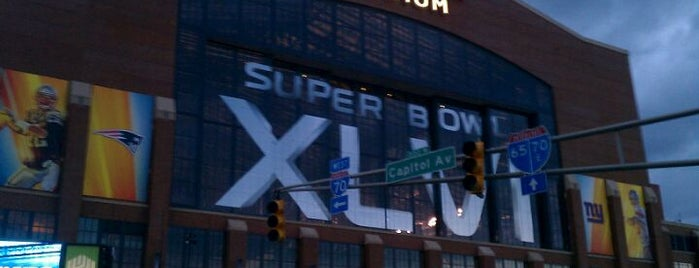 Lucas Oil Stadium is one of Stadium.