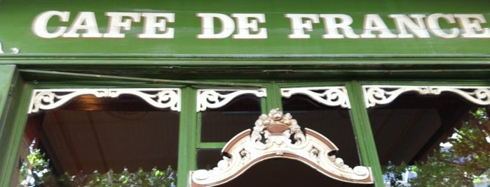 Café de France is one of Lugares favoritos de Helena.