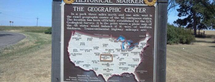 Geographic Center Of The United States is one of Oklahoma.