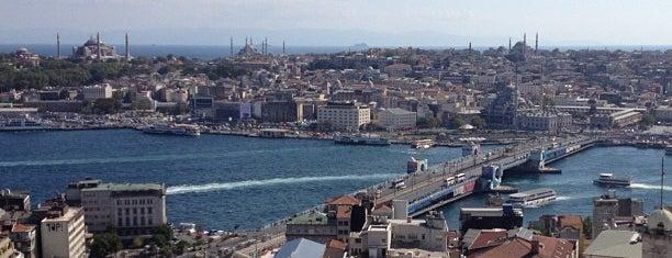 Galata Köprüsü is one of İstanbul.