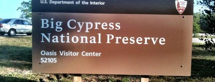 Oasis Visitor Center is one of National Park Service Sites.
