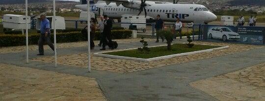 Aeroporto de Vitória da Conquista / Pedro Otacílio Figueiredo (VDC) is one of Posti che sono piaciuti a Walney.