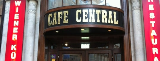 Café Central is one of Vienna.