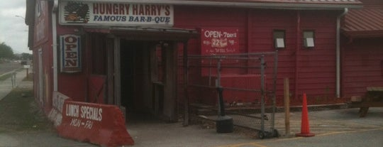 Hungry Harry's Famous BBQ is one of Churroさんのお気に入りスポット.