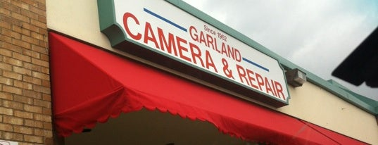 Garland Camera & Repair Shop is one of Rebeccaさんのお気に入りスポット.