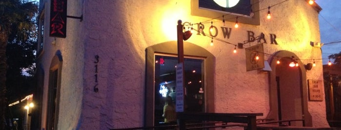 Crow Bar is one of Lugares favoritos de Greg.