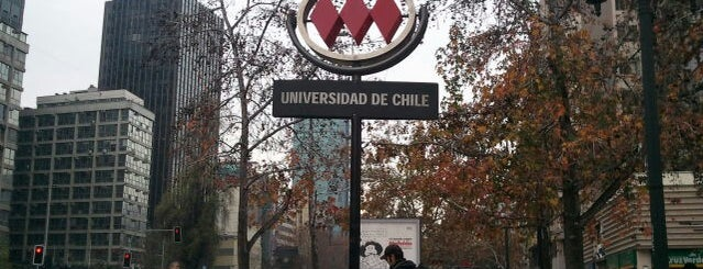 Metro Universidad de Chile is one of Posti che sono piaciuti a Rodrigo.