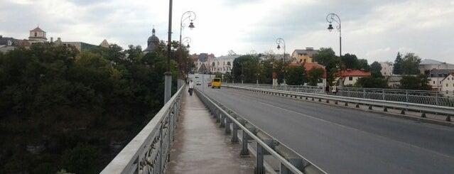 Новопланівський міст is one of Lugares favoritos de Kirill.
