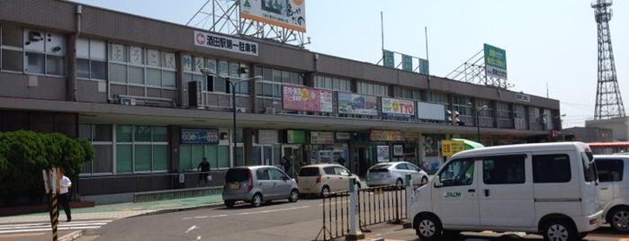 酒田駅 is one of JR 키타토호쿠지방역 (JR 北東北地方の駅).