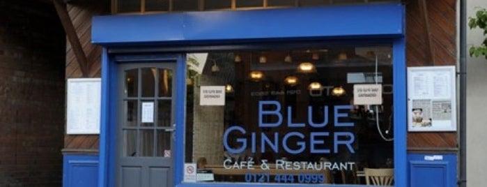 Blue Ginger is one of Tempat yang Disimpan Madir.