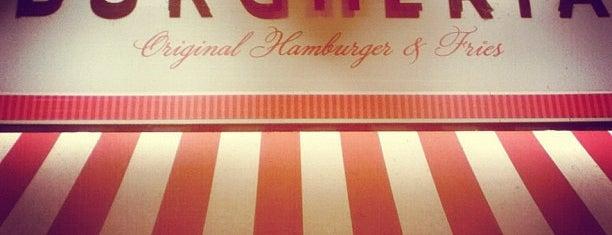 Burgheria 01 - Original Hamburger & Fries is one of Julian 님이 저장한 장소.