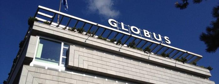 GLOBUS is one of 5 días en Zurich / 5 days in Zurich.