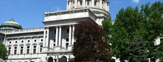 Pennsylvania State Capitol is one of 7th 미국여행.
