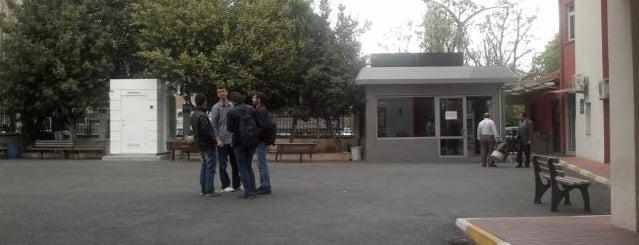 Marmara Üniversitesi is one of İstanbul'daki Üniversite ve MYO'ların Kampüsleri.