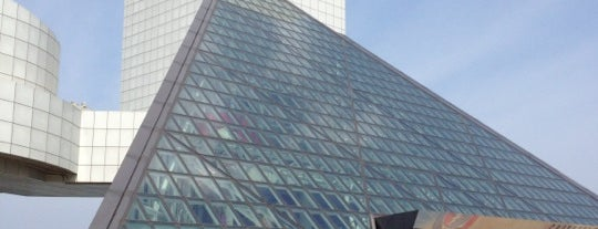 Rock & Roll Hall of Fame is one of Cleveland.