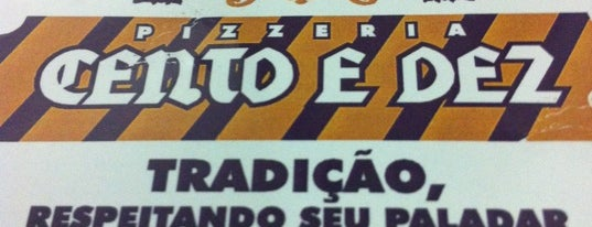 Pizzaria Cento e Dez is one of Melhores Pizzas de Goiânia.